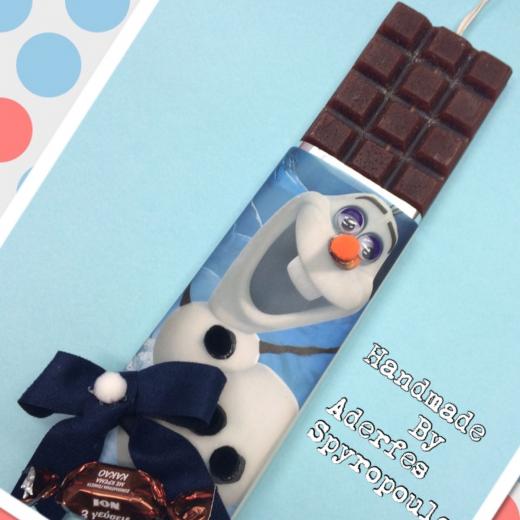 Εικόνα για Σοκολατολαμπάδα Olaf