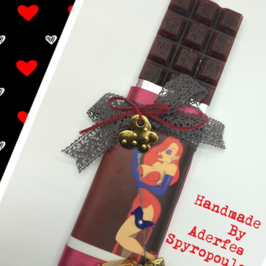 Εικόνα για Σοκολατολαμπάδα Jessica Rabbit