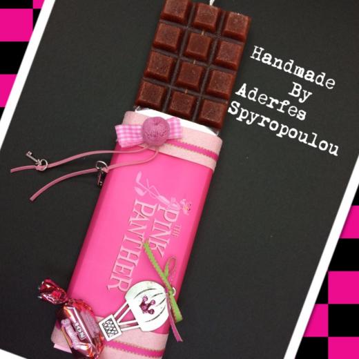Εικόνα για Σοκολατολαμπάδα Ροζ Πάνθηρας