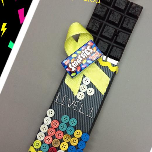 Εικόνα για Σοκολατολαμπάδα TETRIS