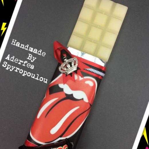 Εικόνα για Σοκολατολαμπάδα Rolling Stones