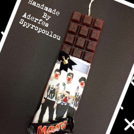Εικόνα για Σοκολατολαμπάδα One Direction