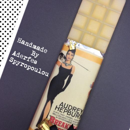 Εικόνα για Σοκολατολαμπάδα Audrey Hepburn