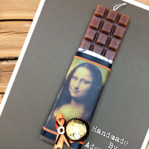 Εικόνα για Σοκολατολαμπάδα Μόνα Λίζα