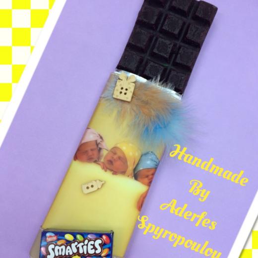 Εικόνα για Σοκολατολαμπάδα yellow baby