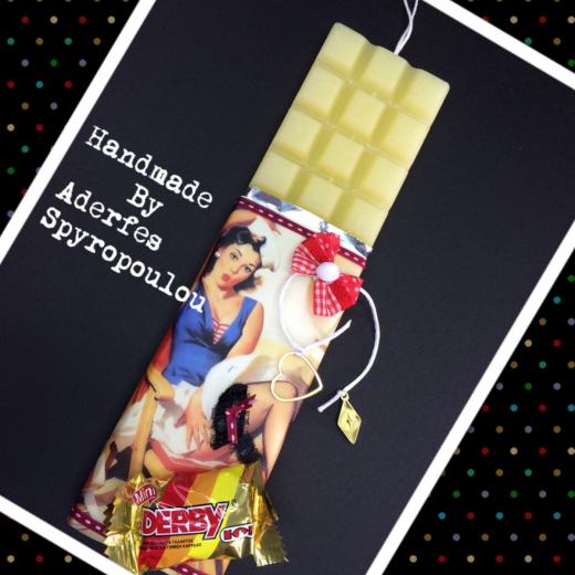 Εικόνα για Σοκολατολαμπάδα Pin up Girl 2