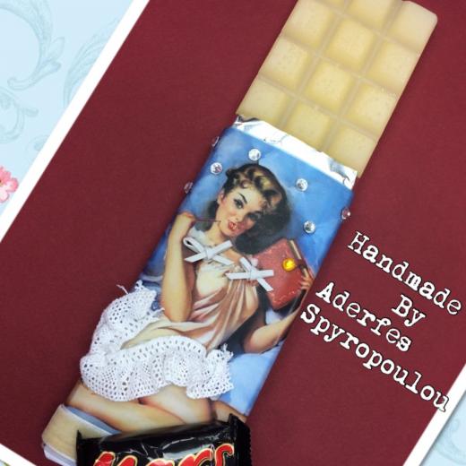 Εικόνα για Σοκολατολαμπάδα Pin up Girl 3