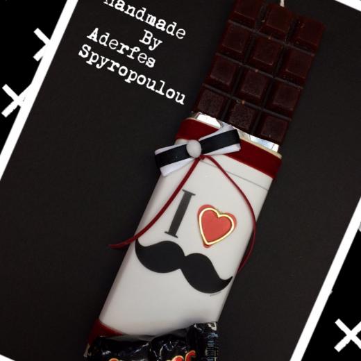 Εικόνα για Σοκολατολαμπάδα Moustache