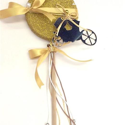 Εικόνα για Λαμπάδα Γλειφιτζουρι Χρυσό - Άμαξα