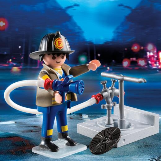 Εικόνα για PLAYMOBIL 4795 Πυροσβέστης με Μάνικα