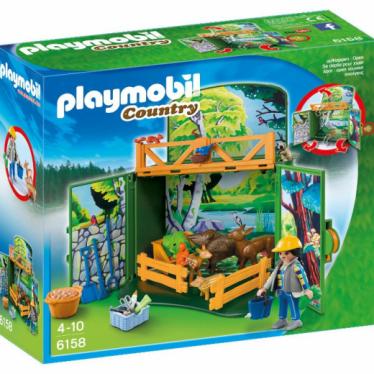 Εικόνα 2 για PLAYMOBIL 6158 Game Box Ζώα του Δάσους