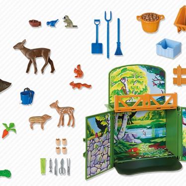 Εικόνα 3 για PLAYMOBIL 6158 Game Box Ζώα του Δάσους
