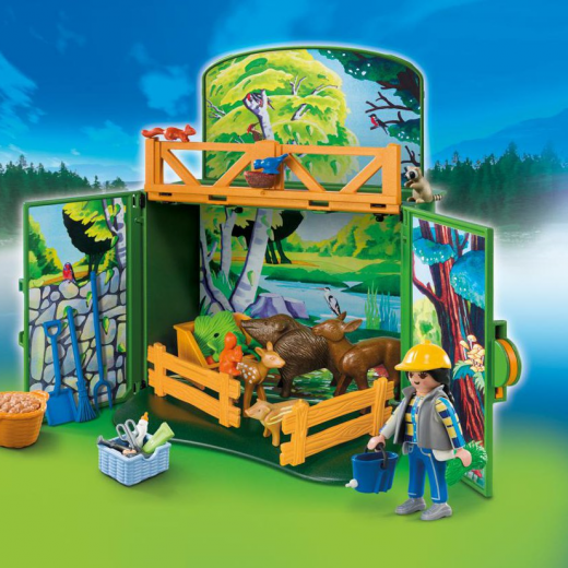 Εικόνα για PLAYMOBIL 6158 Game Box Ζώα του Δάσους