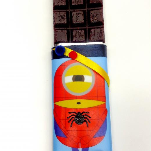 Εικόνα για Σοκολατολαμπάδα Minions Spiderman