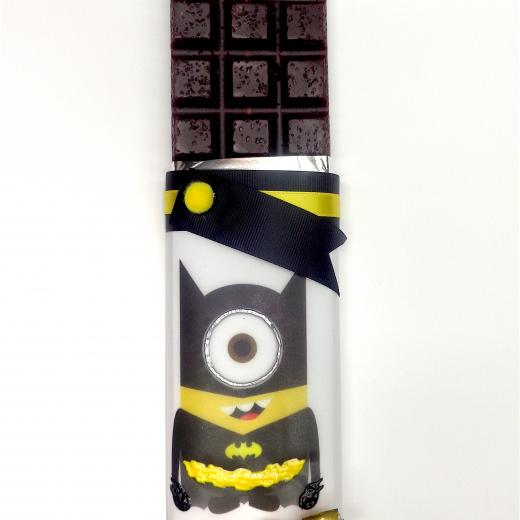 Εικόνα για Σοκολατολαμπάδα Minions Batman