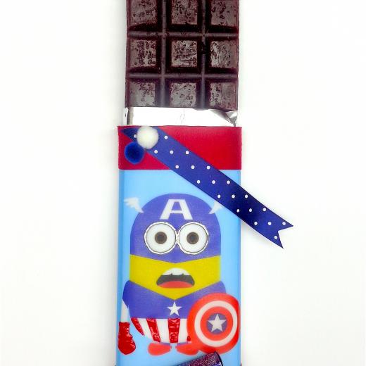 Εικόνα για Σοκολατολαμπάδα Minions Captain America